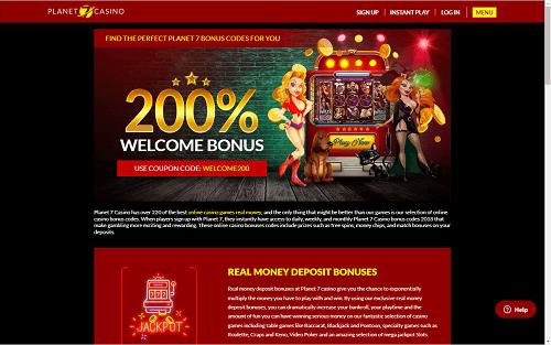 Planet 7 Casino Bonuses