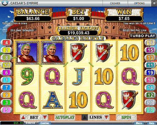 Ceasar-Empire-Slot-Reels