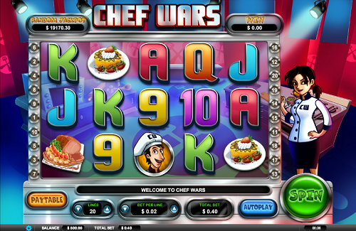 Arrows Edge Chef Wars Slot Review