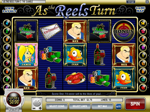 as the reels turn 2 slot game review reels
