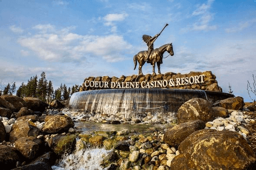 coeur d'alene casino resort hotel tribal casino in idaho usa