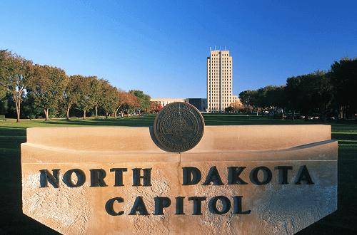 north dakota state land mark