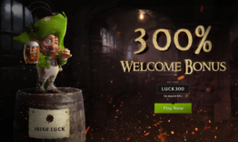 Irish Luck Welcome Bonus