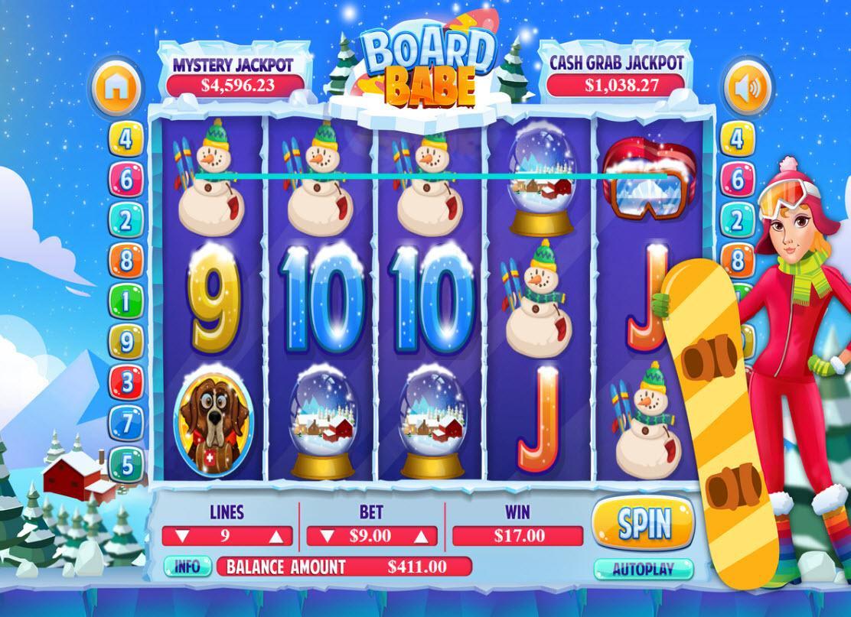 Arrow's Edge Board Babe Slot Machine