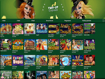 Two Up Casino Games