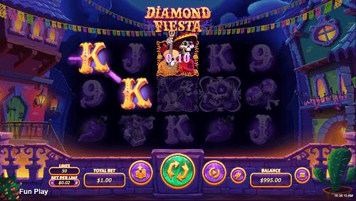 Diamond Fiesta Slot Win