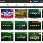 BetOnline Blackjack Site Games