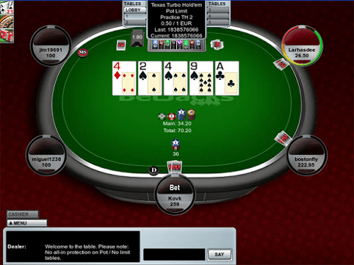 Texas Holdem Simple Poker Game to Play