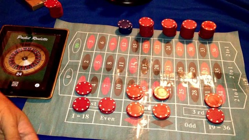 roulette colored bets
