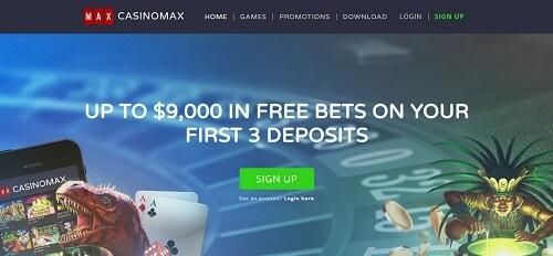 CasinoMax Bonuses