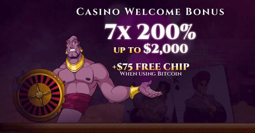 Aladdin's Gold Welcome Bonuses