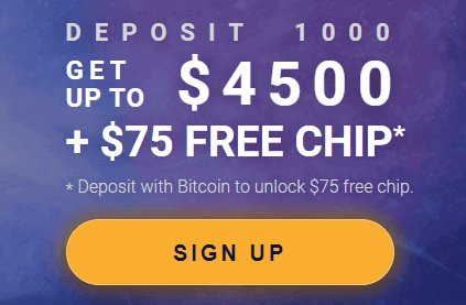 Crypto Reels Casino Welcome Bonus