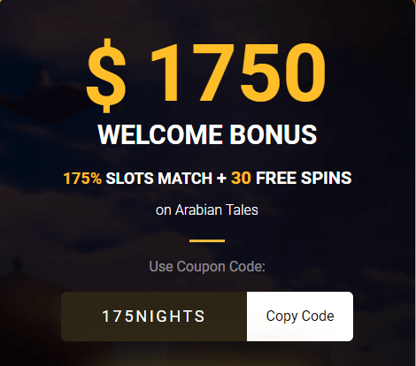 Golden Lion Exclusive Welcome Casino Bonus Code