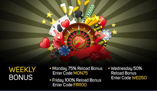 Gossip Slots Weekly Casino Bonus Codes