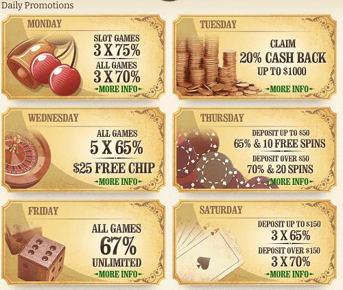 High Noon Daily Casino Bonus Codes