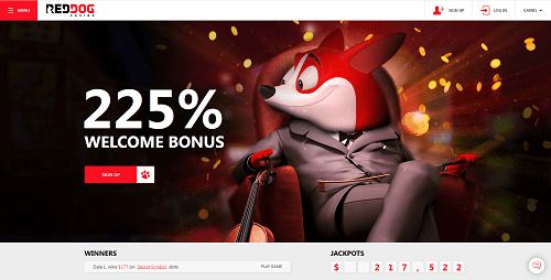 red dog casino bonuses