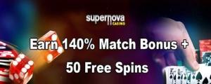 Supernova Casino Weekend Bonus Codes