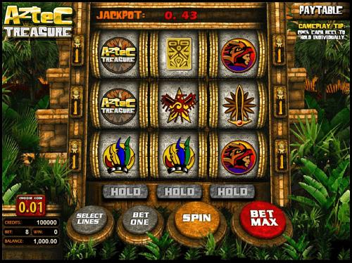 Aztec Treasure Slot Machine