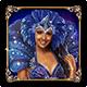 Carnaval Forever Blue Dancer