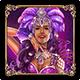 Carnaval Forever Purple Dancer