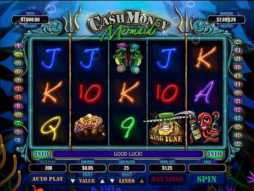 Cash Money Mermaids Slot Game