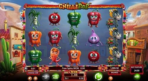 Chillipop Slot Reels