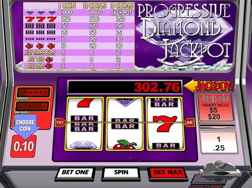 diamond jackpot slot review