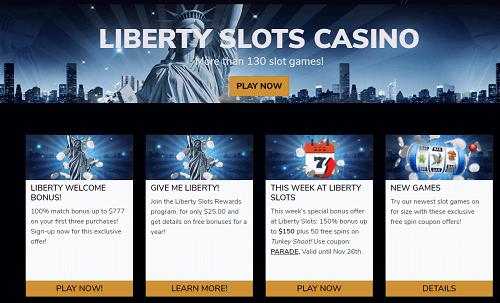 Liberty Slots Bonus Codes