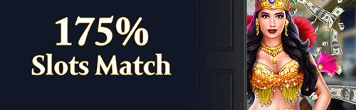 Exclusive Casino Monthly Match Bonus