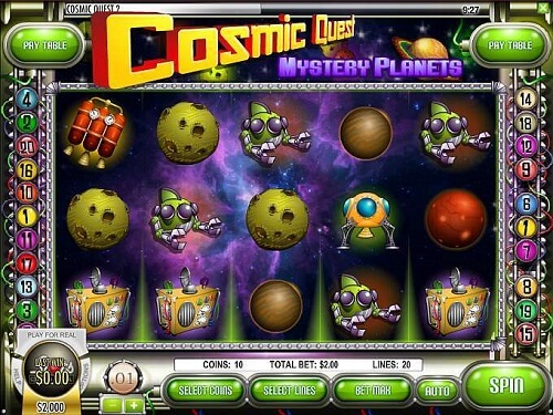 Cosmic Quest Mystery Planets