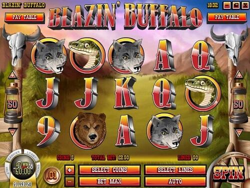 Blazin Buffalo Slot Review