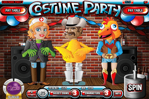 costume party slot