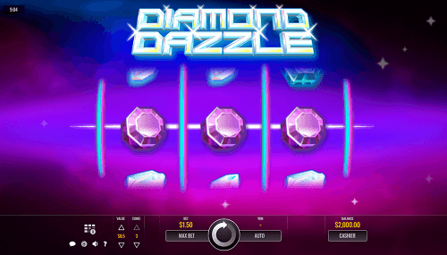 Diamond Dazzle Slot Design