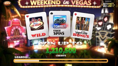 Weekend in Vegas Slot Rating