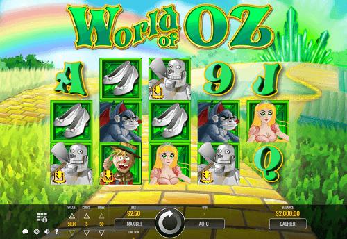 World of Oz Slot