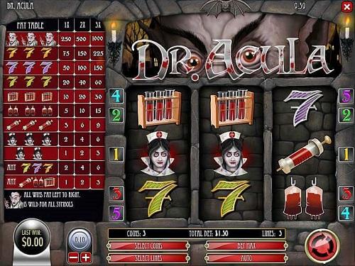 dr acula slot machine