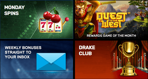 Best Drake Casino Bonuses