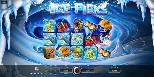 Ice Picks Slot Gameplay