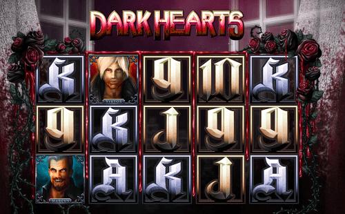 Dark Hearts Slot Reels