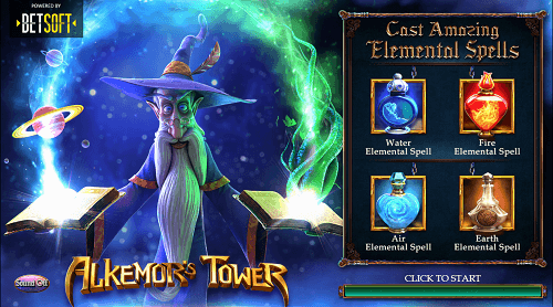 Alkemor's Tower Betsoft Slot
