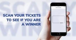 scan lottery ticket online