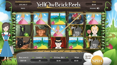yellow brick reels slot review