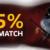 Domgame 185% Slots Match