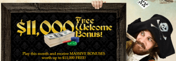 Captain Jack Casino Welcome Bonuses