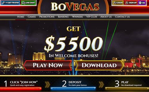 Click to Claim Bovegas Welcome Bonus