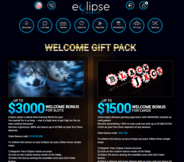 Eclipse Casino Promotions