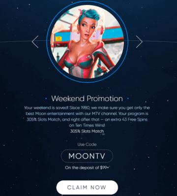 Eclipse Casino Weekend Bonus