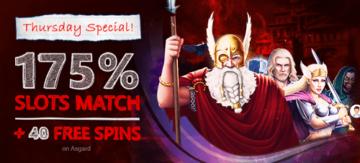Free Spin Casino Thursday Bonus