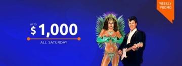 Jackpot Capital Casino Saturday Bonus