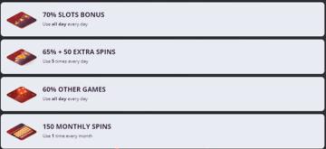More Cherry Jackpot Casino Bonuses